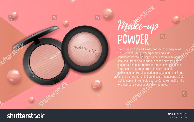 Modern Premium VIP Cosmetic Ads Pink Stock Vector (2018) 716114644 ...