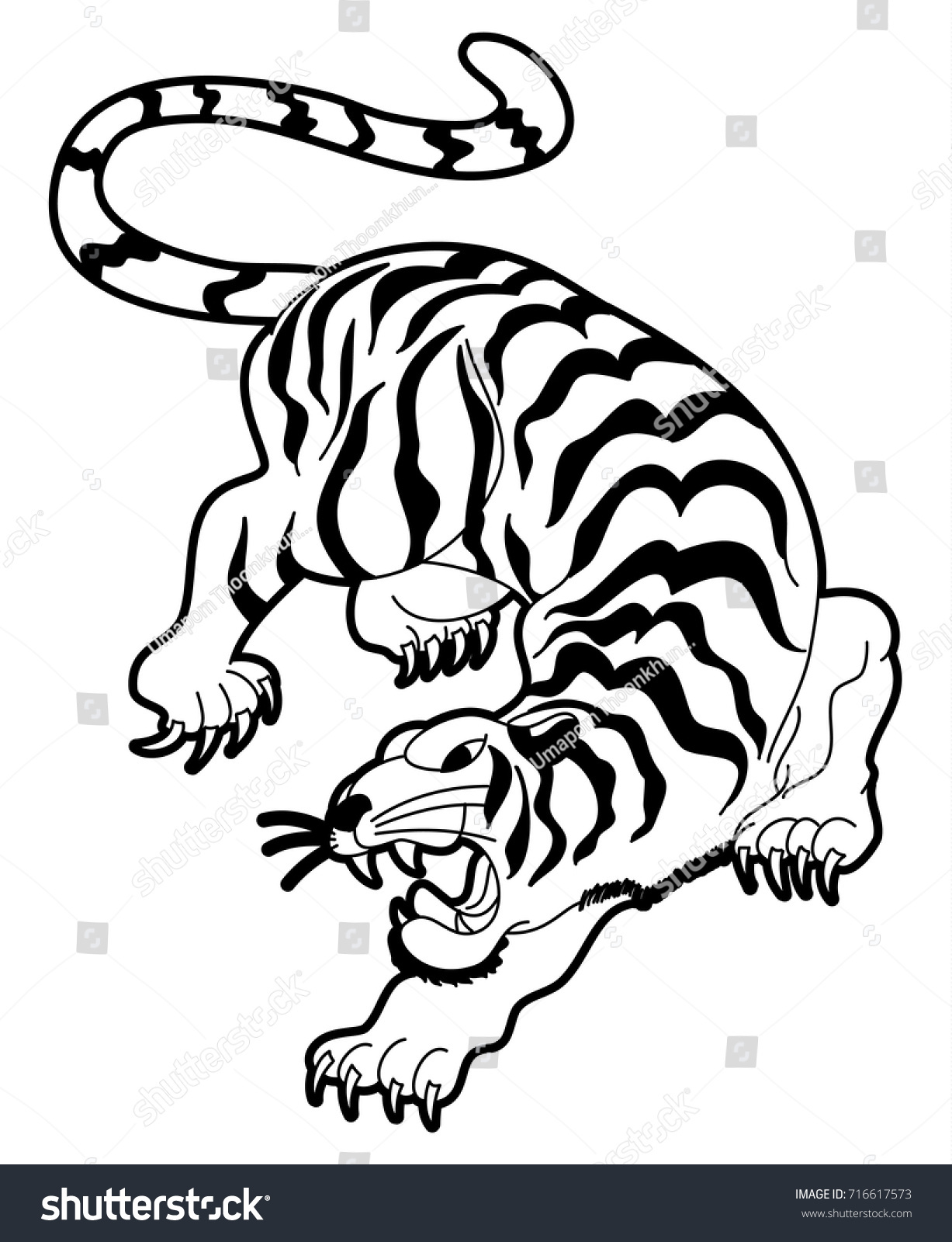 Chinese Tiger Symbol Tattoo Images For Tatouage