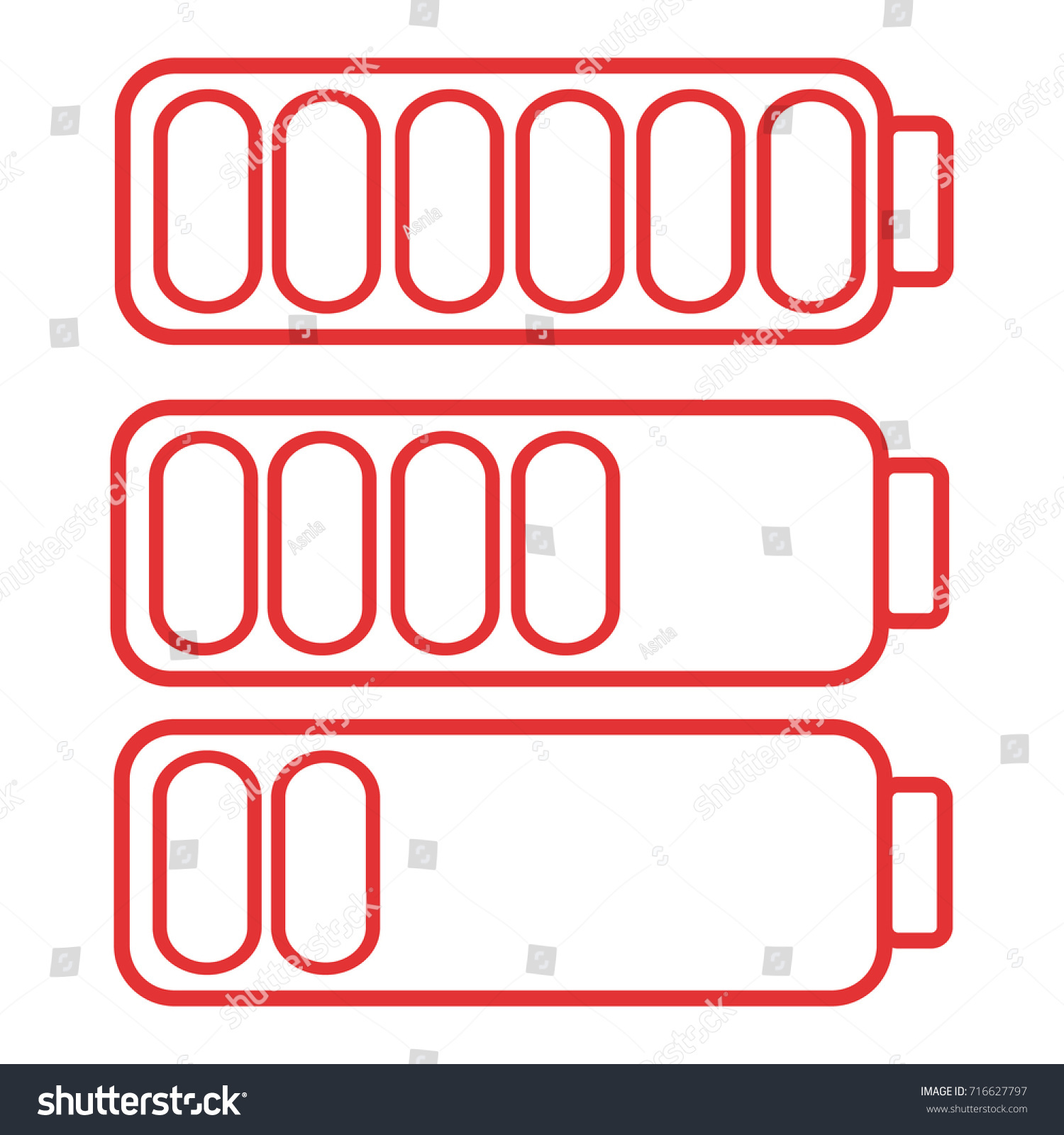 Smart phone cell phone low battery stock vector 716627797 smart phone or cell phone low battery icon low energy symbol flat vector illustration biocorpaavc Images