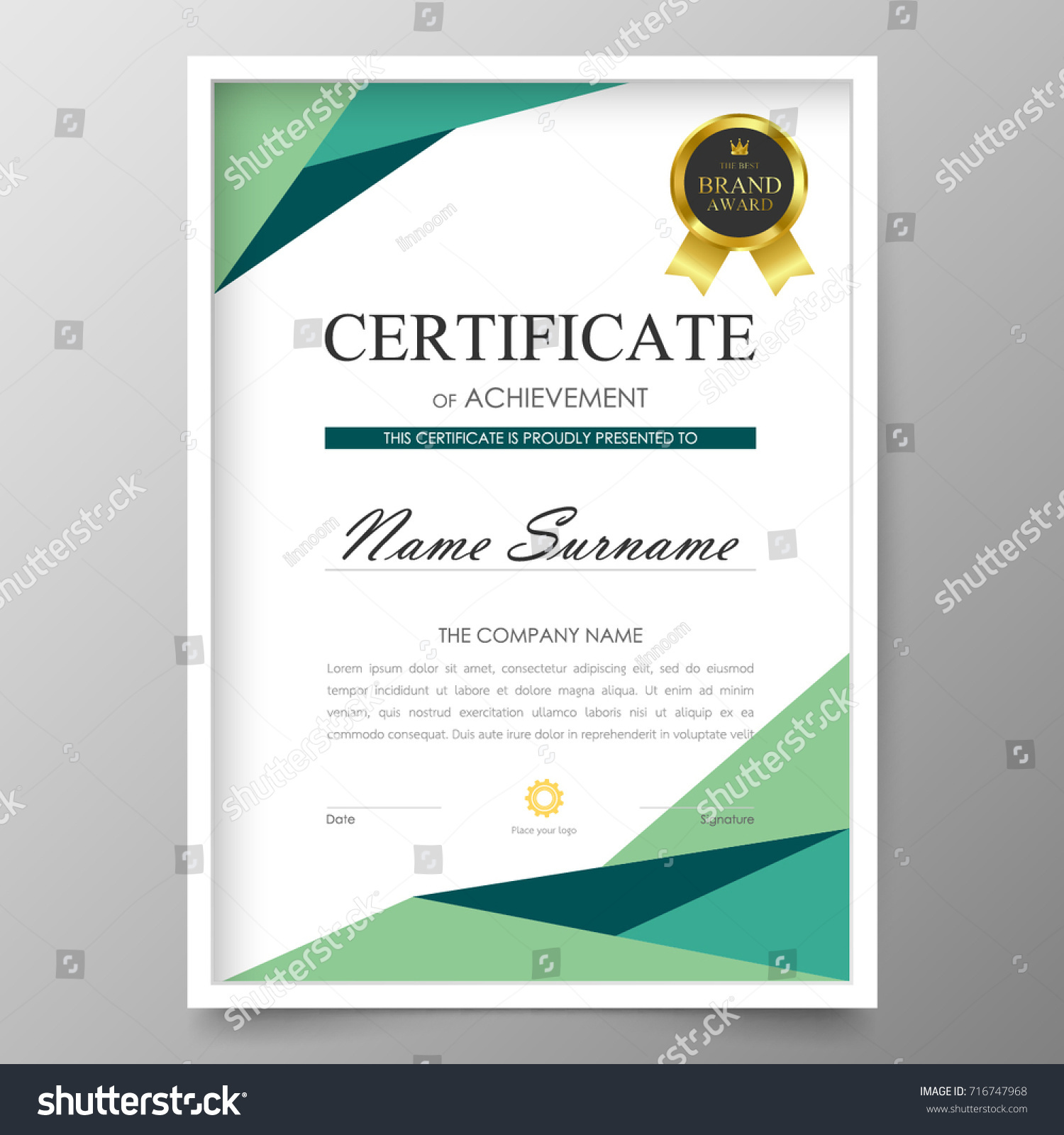 certificate premium template awards diploma background stock  certificate premium template awards diploma background vector modern value design and layout luxurious cover leaflet