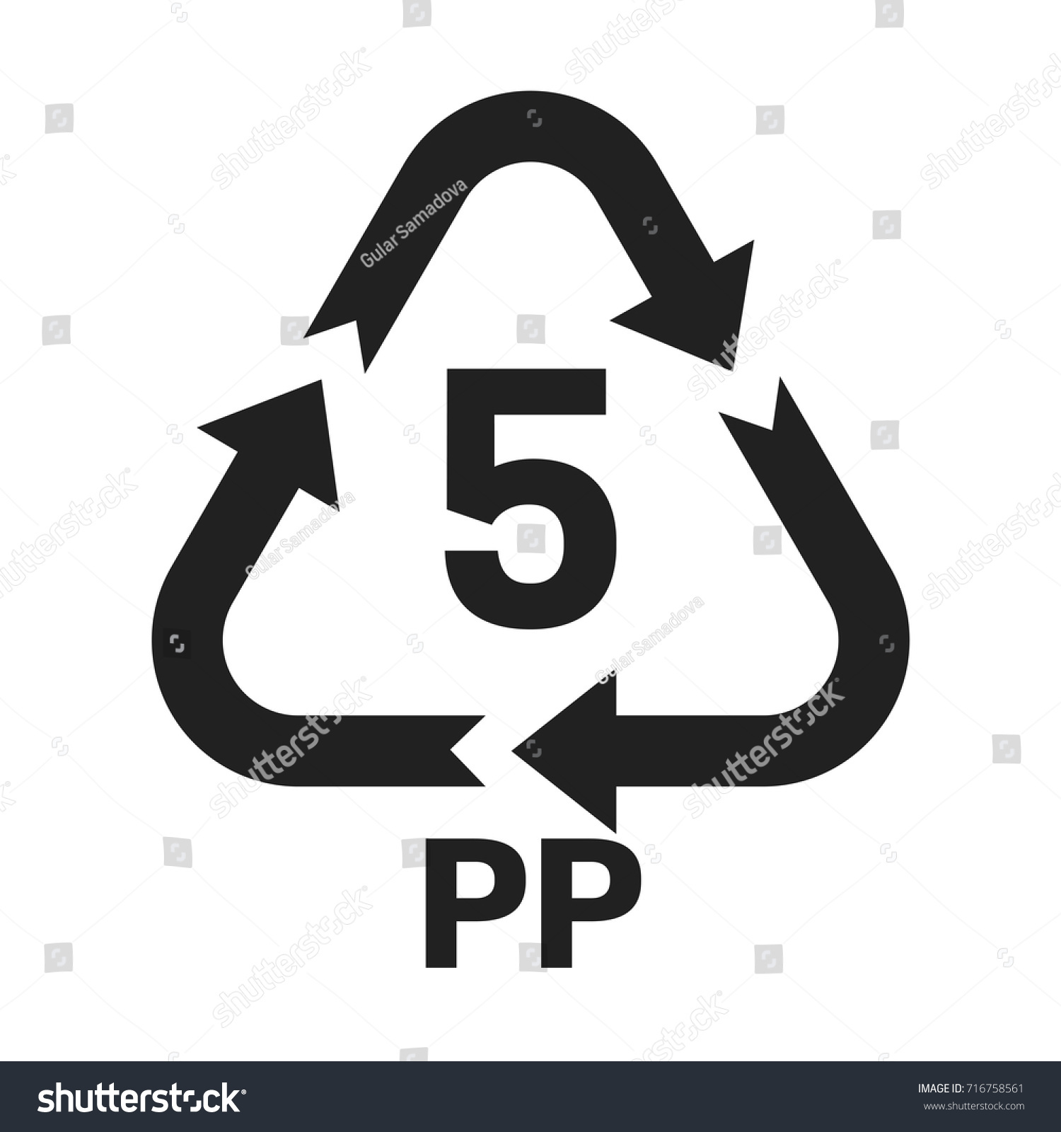 5 Pp Icon Pp 5 Icon Stock Vector Royalty Free 716758561 Shutterstock