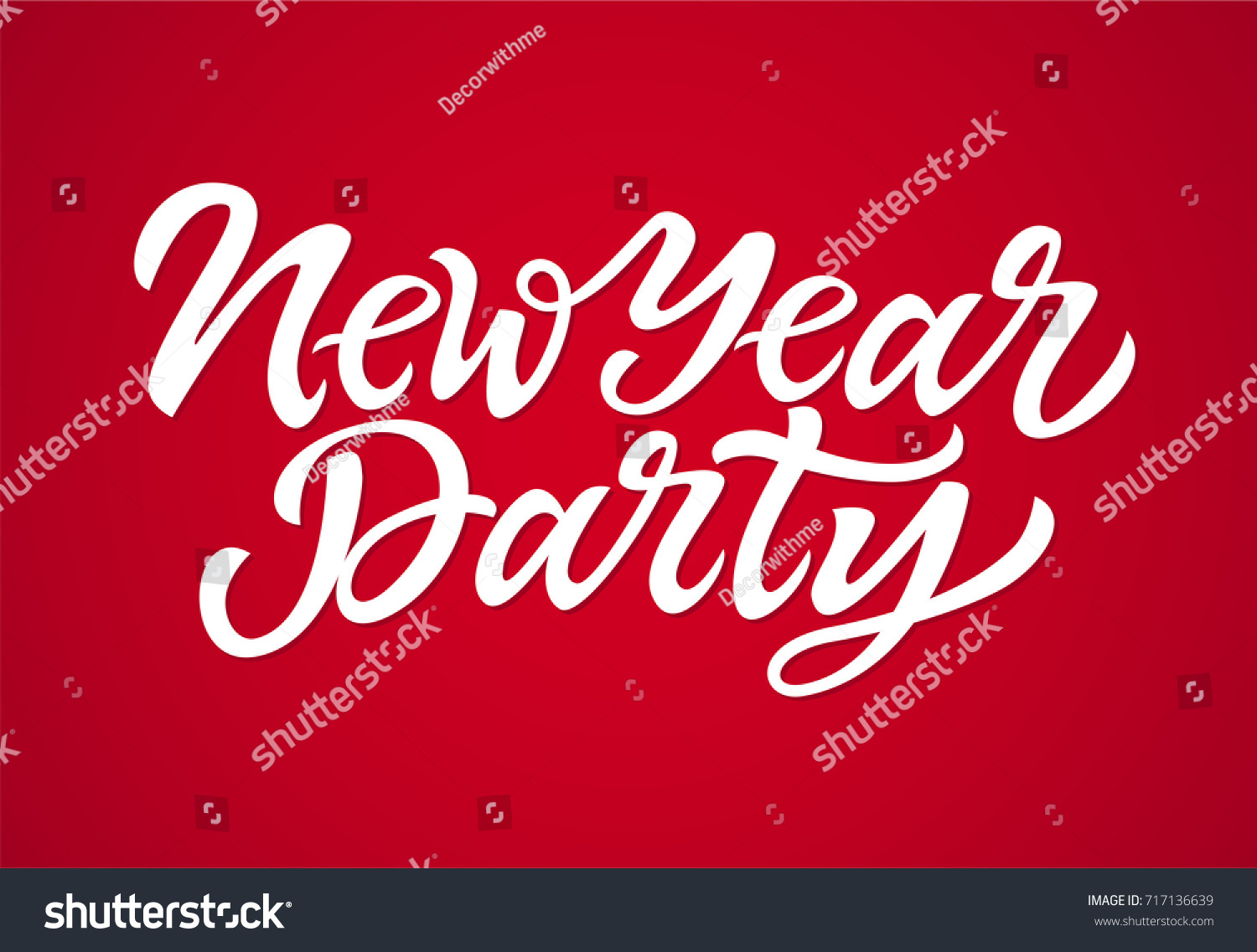 New Year Party Vector Hand Drawn Stock Vector (Royalty Free ...