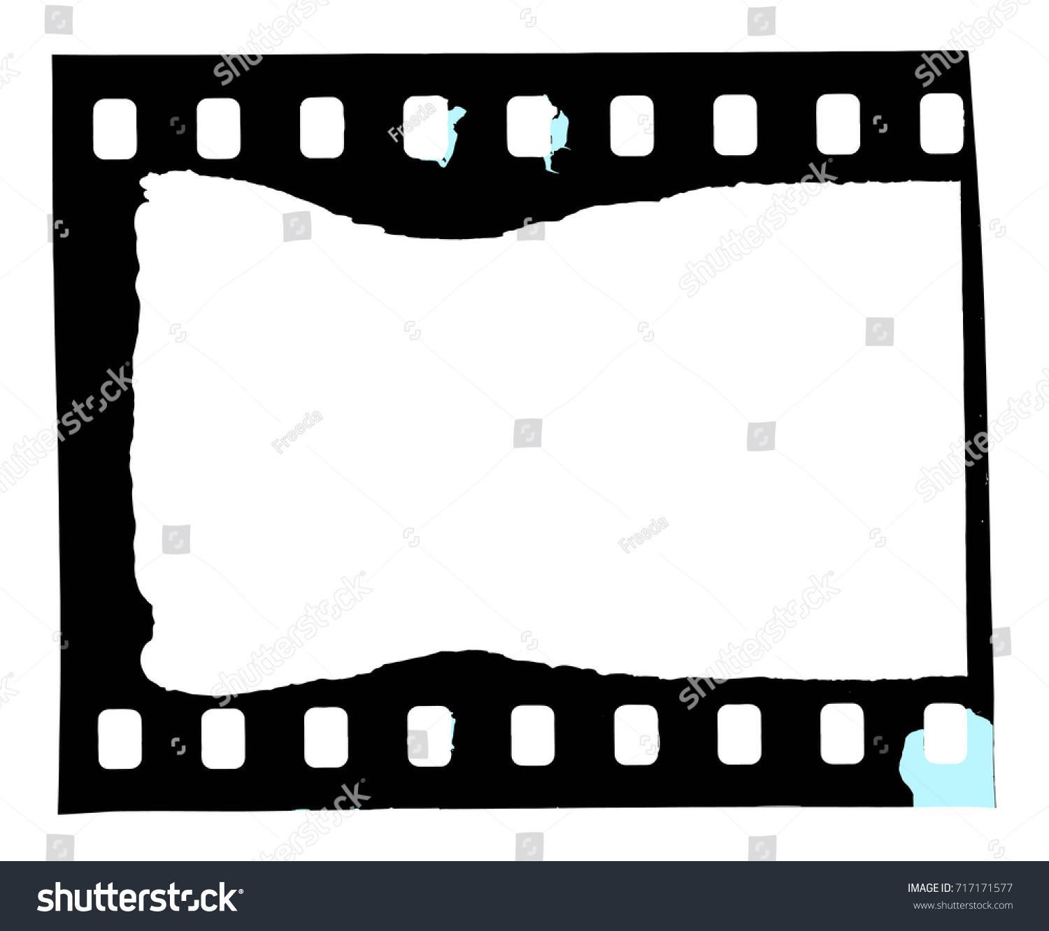 film strip real negative scan frame stock vector 717171577 rh shutterstock com vector film strip illustration vector film strip cdr