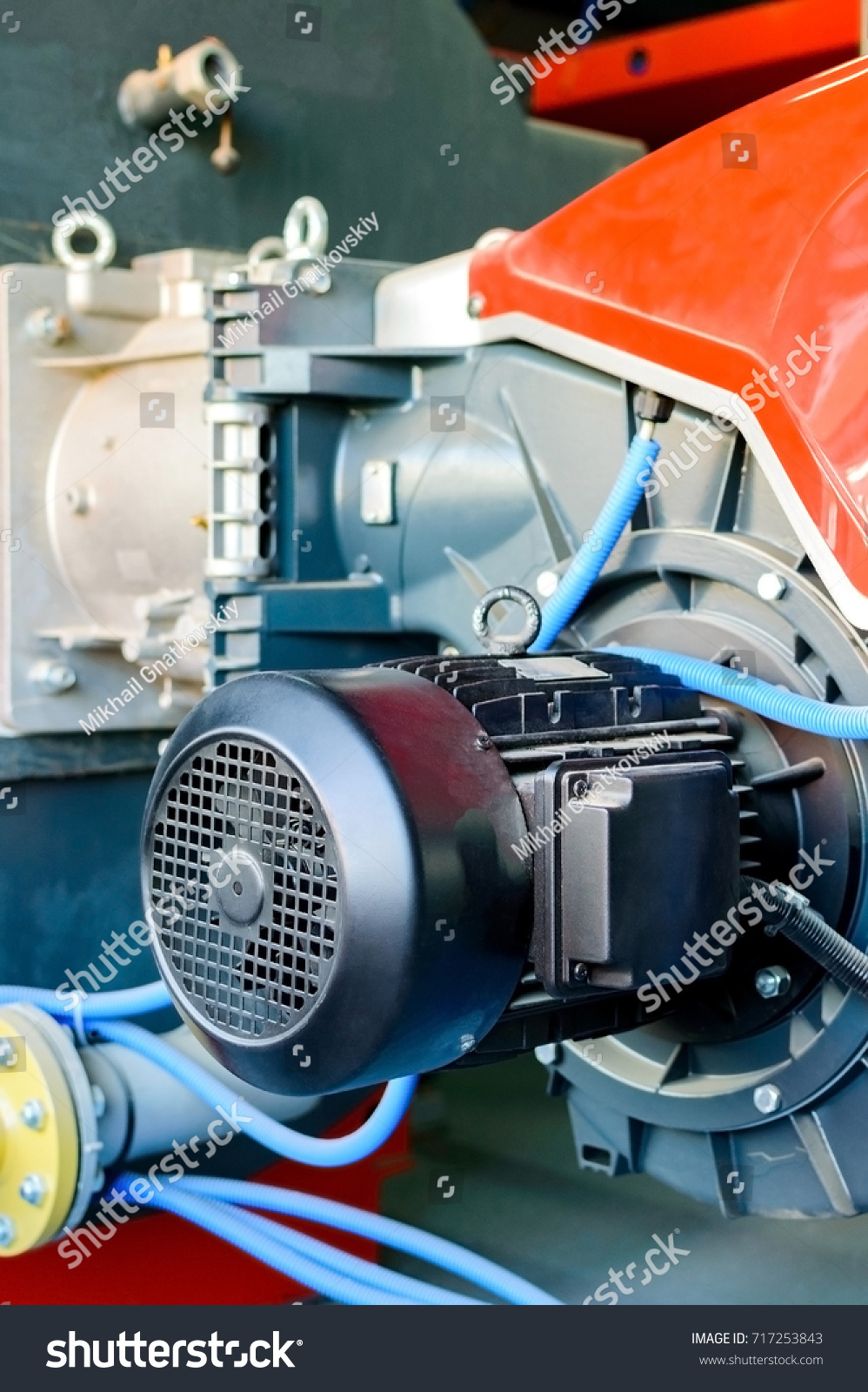 Modern Boiler Room Equipment High Power Stock Photo (Edit Now ...