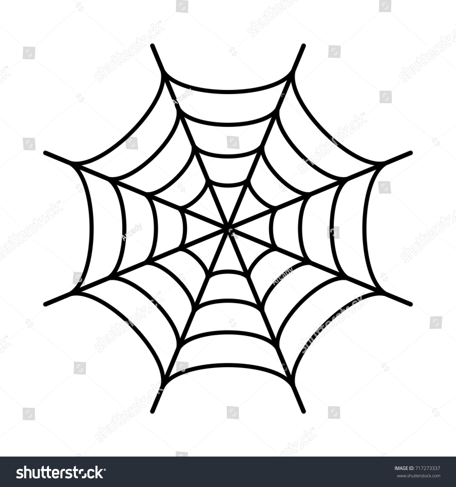 spider web black silhouette icon on stock vector hd royalty free rh shutterstock com spider web vector free spider web vector download