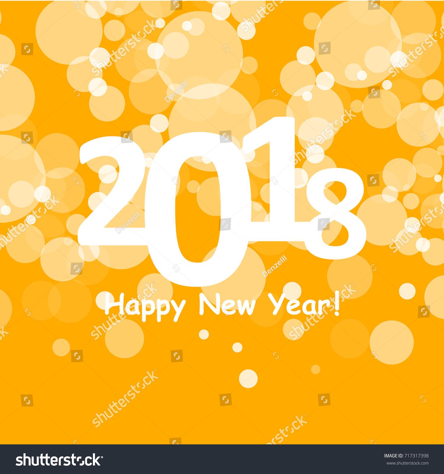 Happy New Year Orange 12
