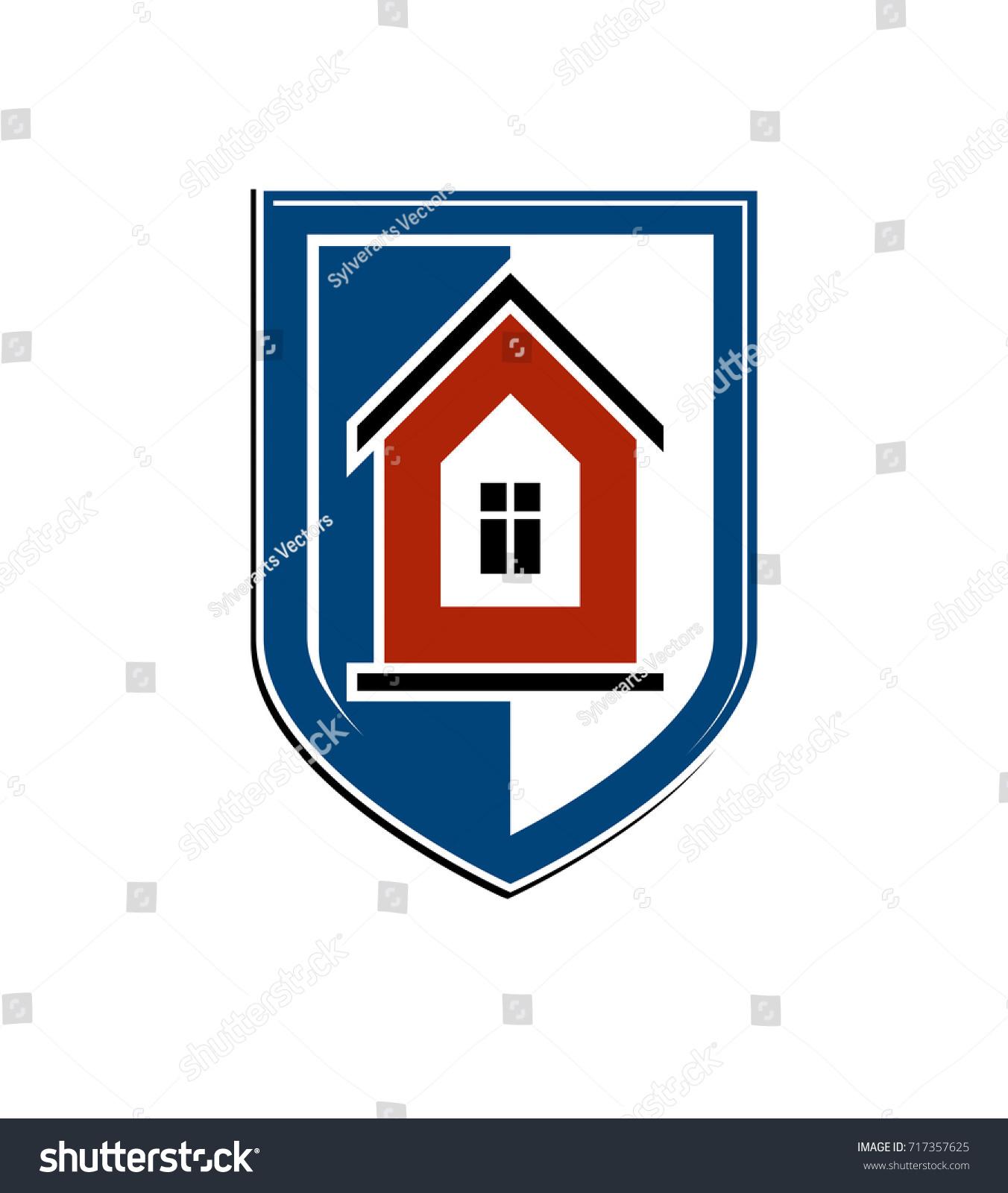 Safety idea abstract heraldic symbol vector stock vector 717357625 safety idea abstract heraldic symbol with vector classic house real estate brand design element buycottarizona