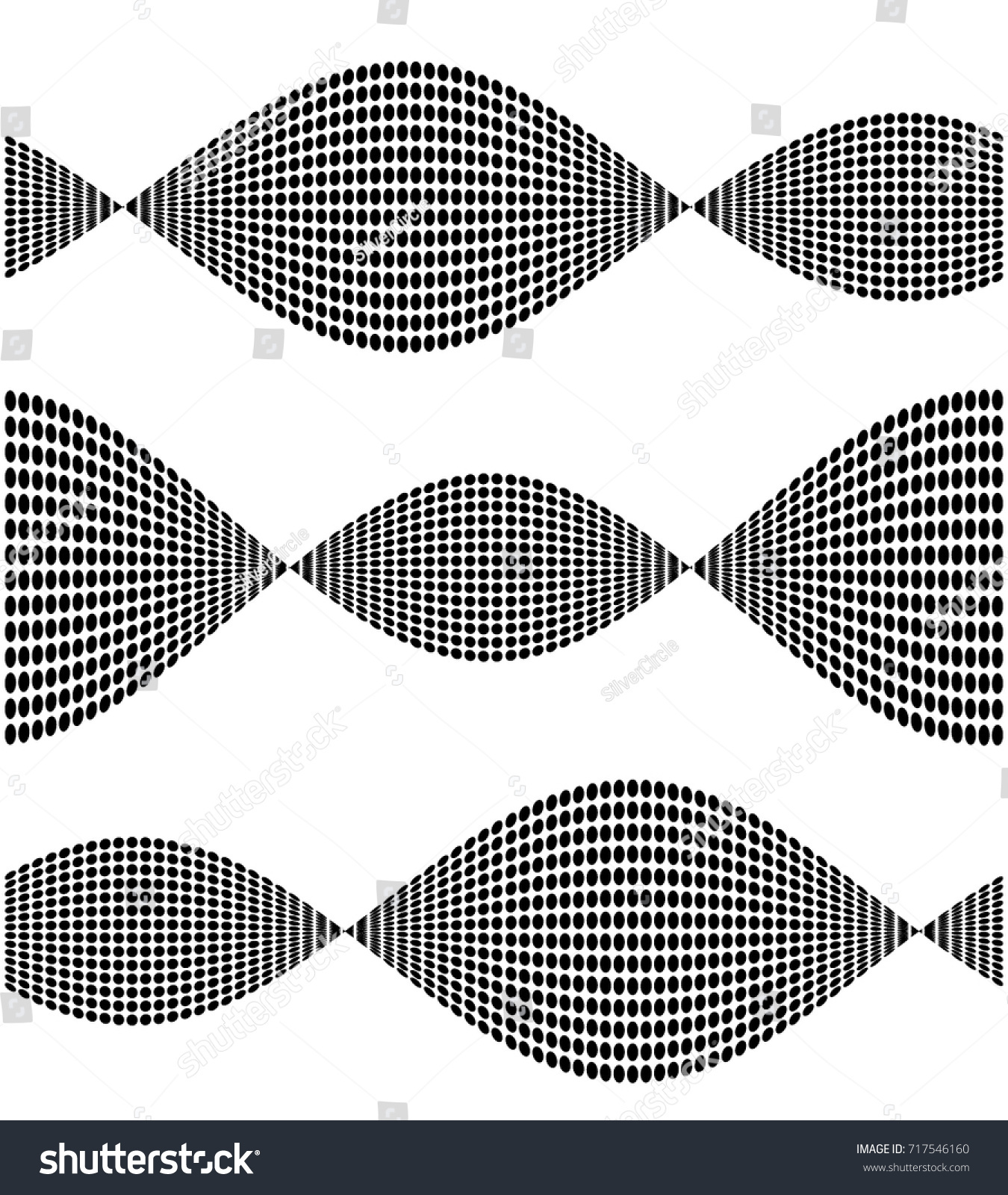 Modern Geometric Background Black Ellipse Element Stock Vector ...
