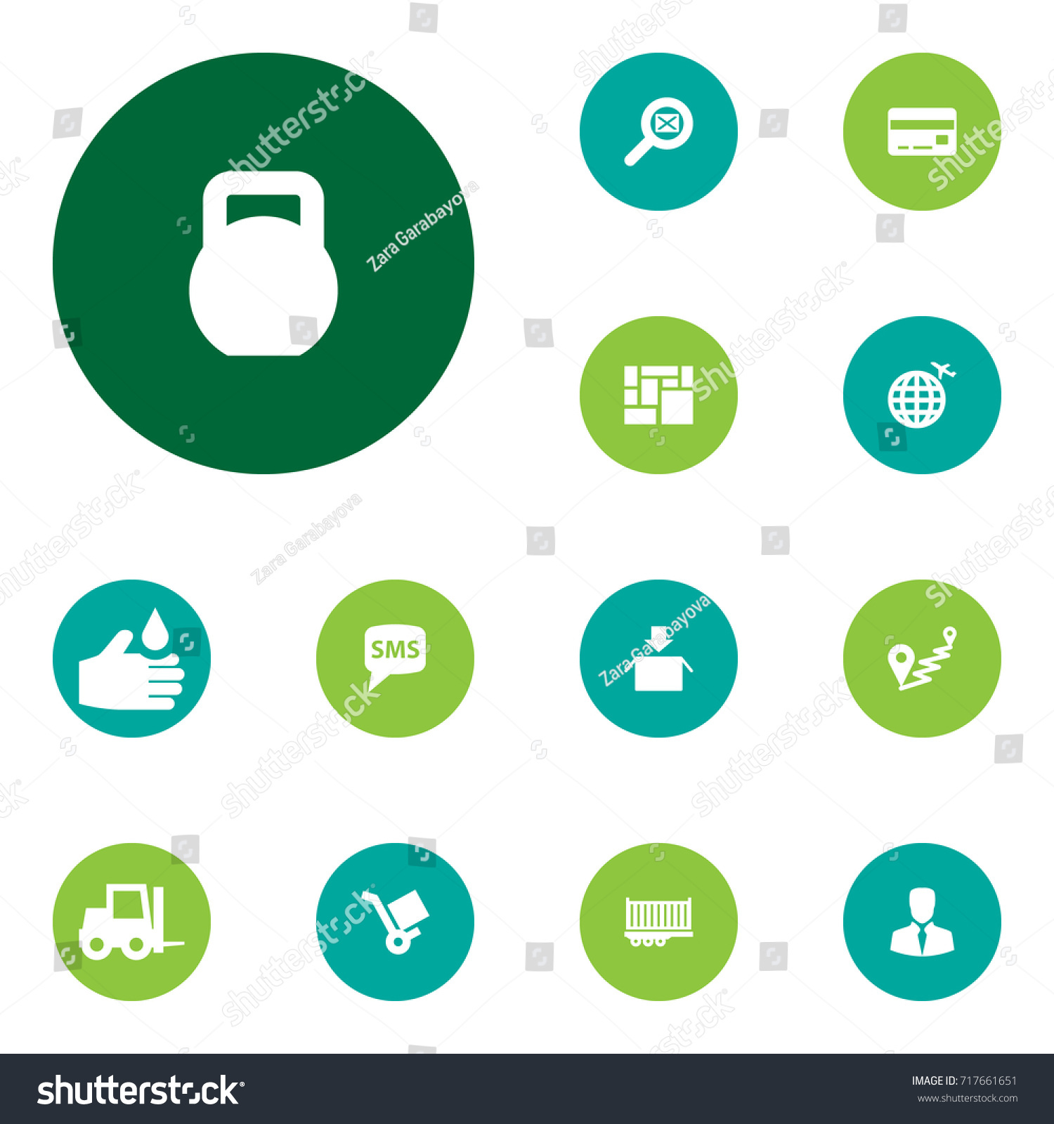 Set 13 Systematization Icons Set Collection International Stock