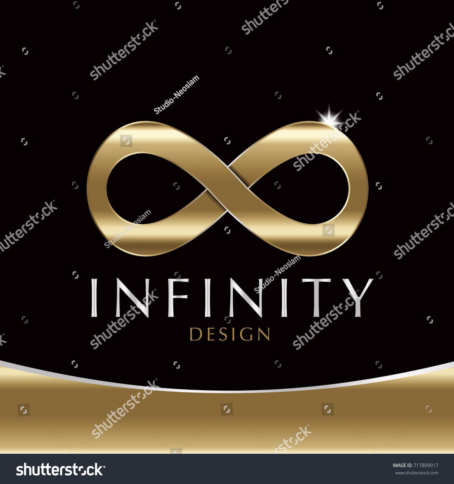 Infinity Symbol Icons Vector Art Stock Vector Royalty Free