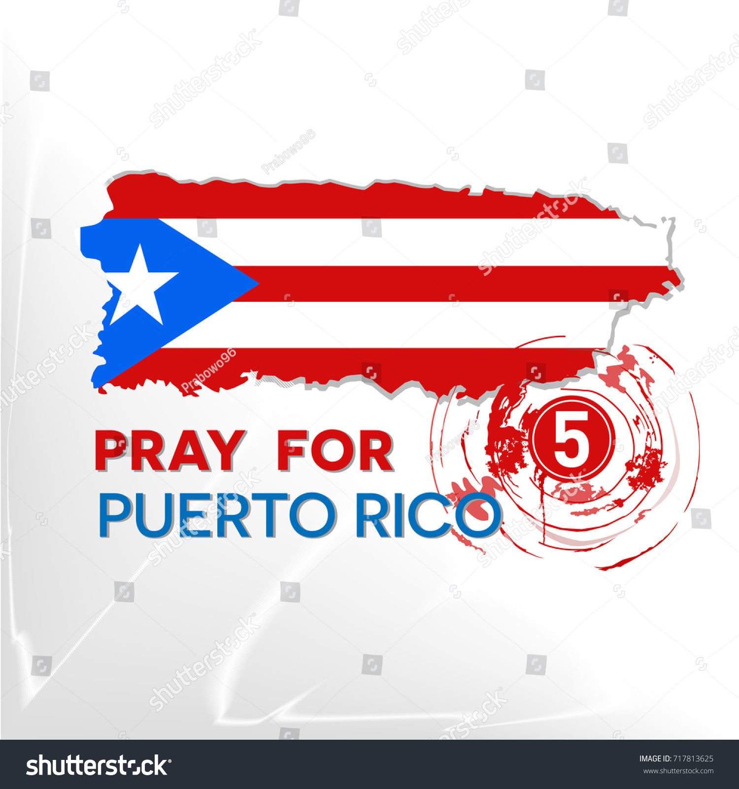 Pray puerto rico symbol humanity storm stock vector 717813625 pray for puerto rico the symbol of humanity for storm natural disaster in puerto rico biocorpaavc Choice Image
