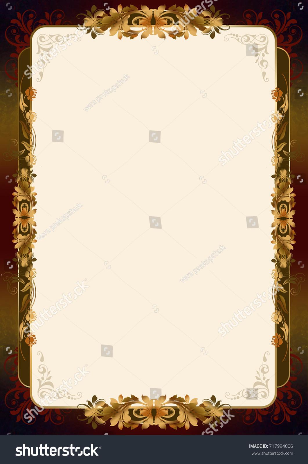 Frame Certificate Stock Illustration 717994006 - Shutterstock