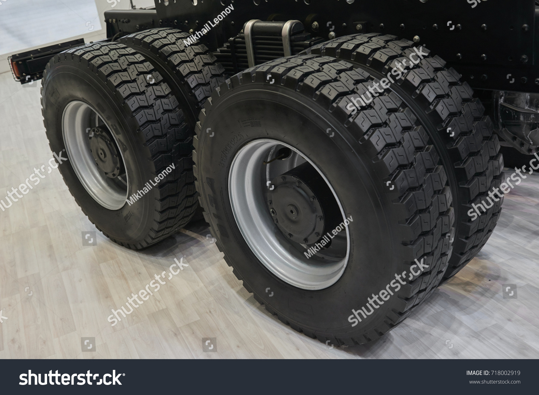 View On New Truck Wheels Tires Foto de stock (editar ahora)718002919 ...