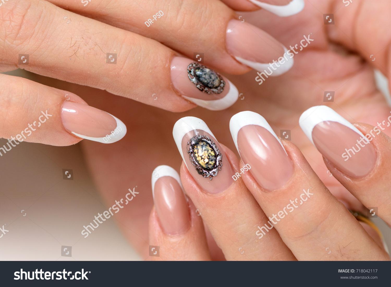 Nail Polish Art Manicure Modern Style Stock Photo (Royalty Free ...