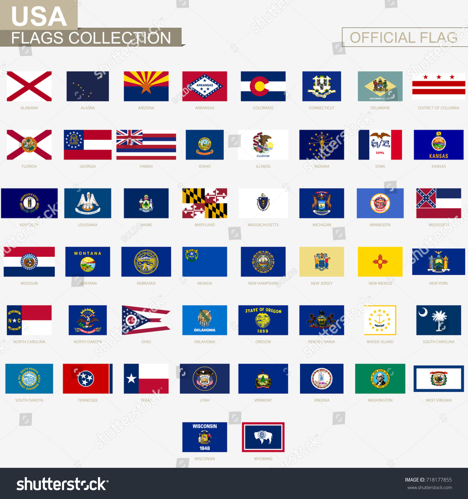 american states alphabetical order