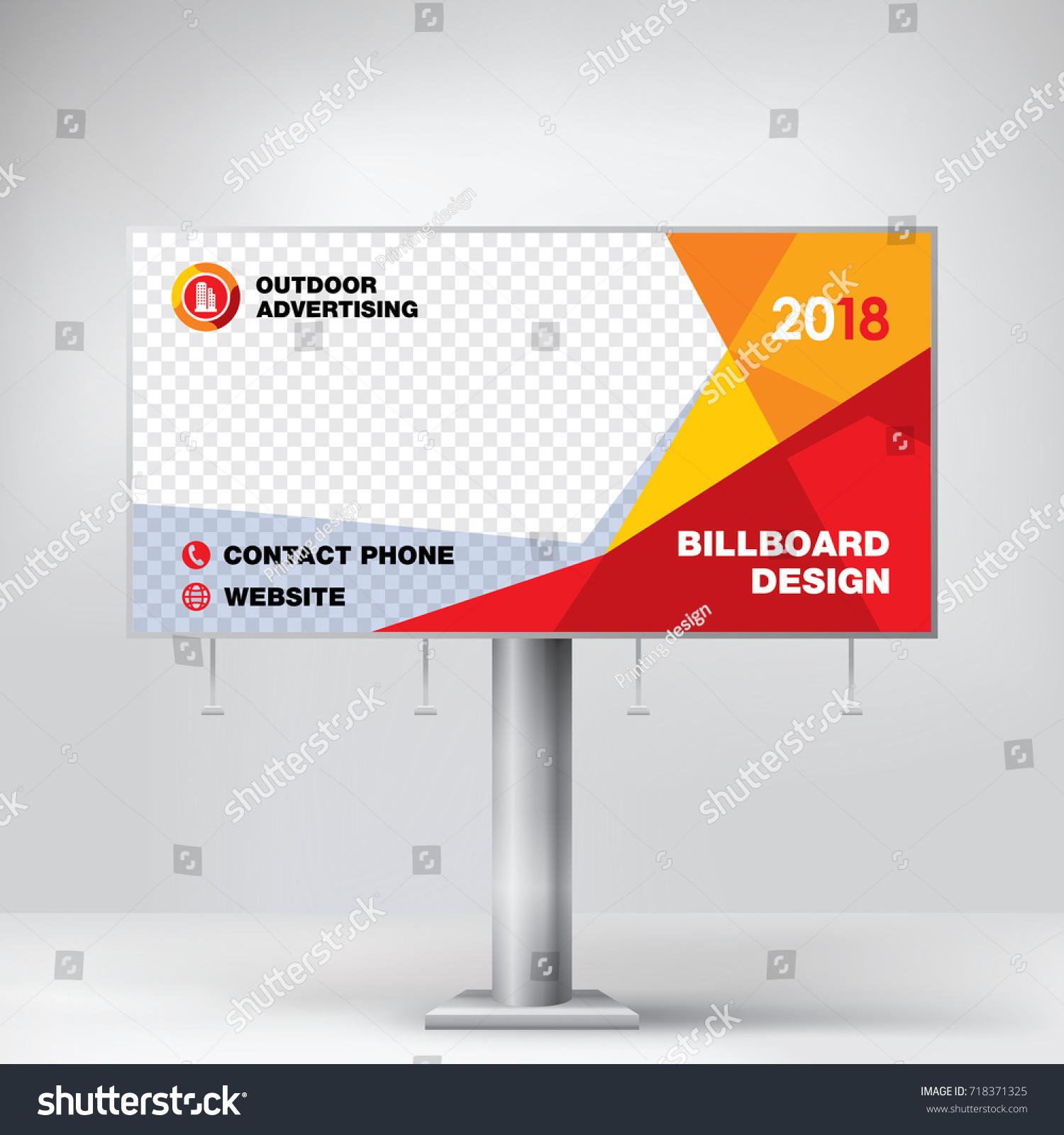 billboard design template