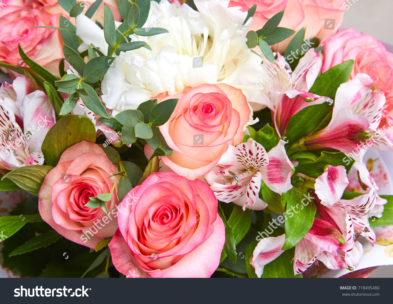 Nice Flower Bouquet Stock Photo Edit Now 718495480 Shutterstock