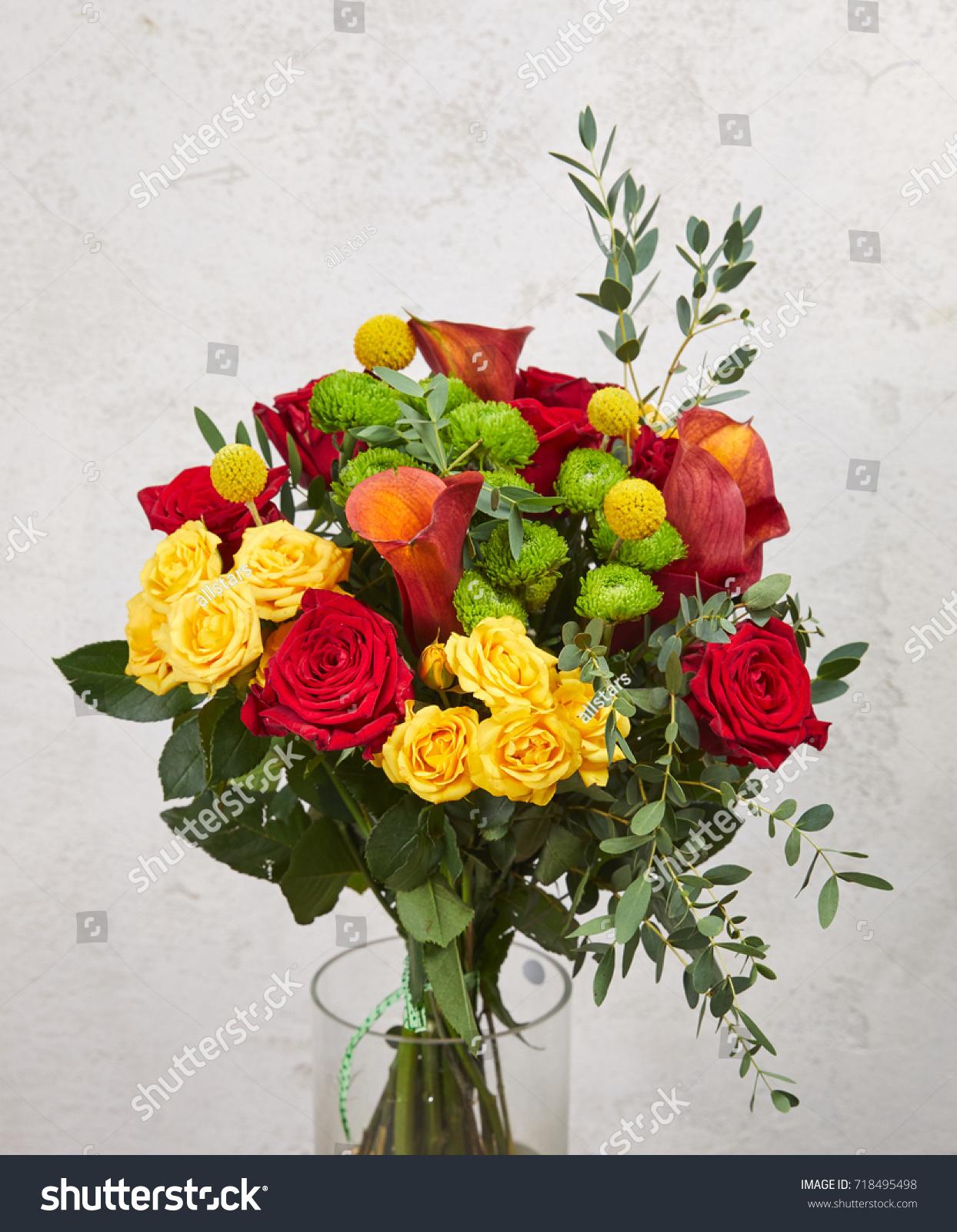 Nice Flower Bouquet Stock Photo Royalty Free 718495498 Shutterstock
