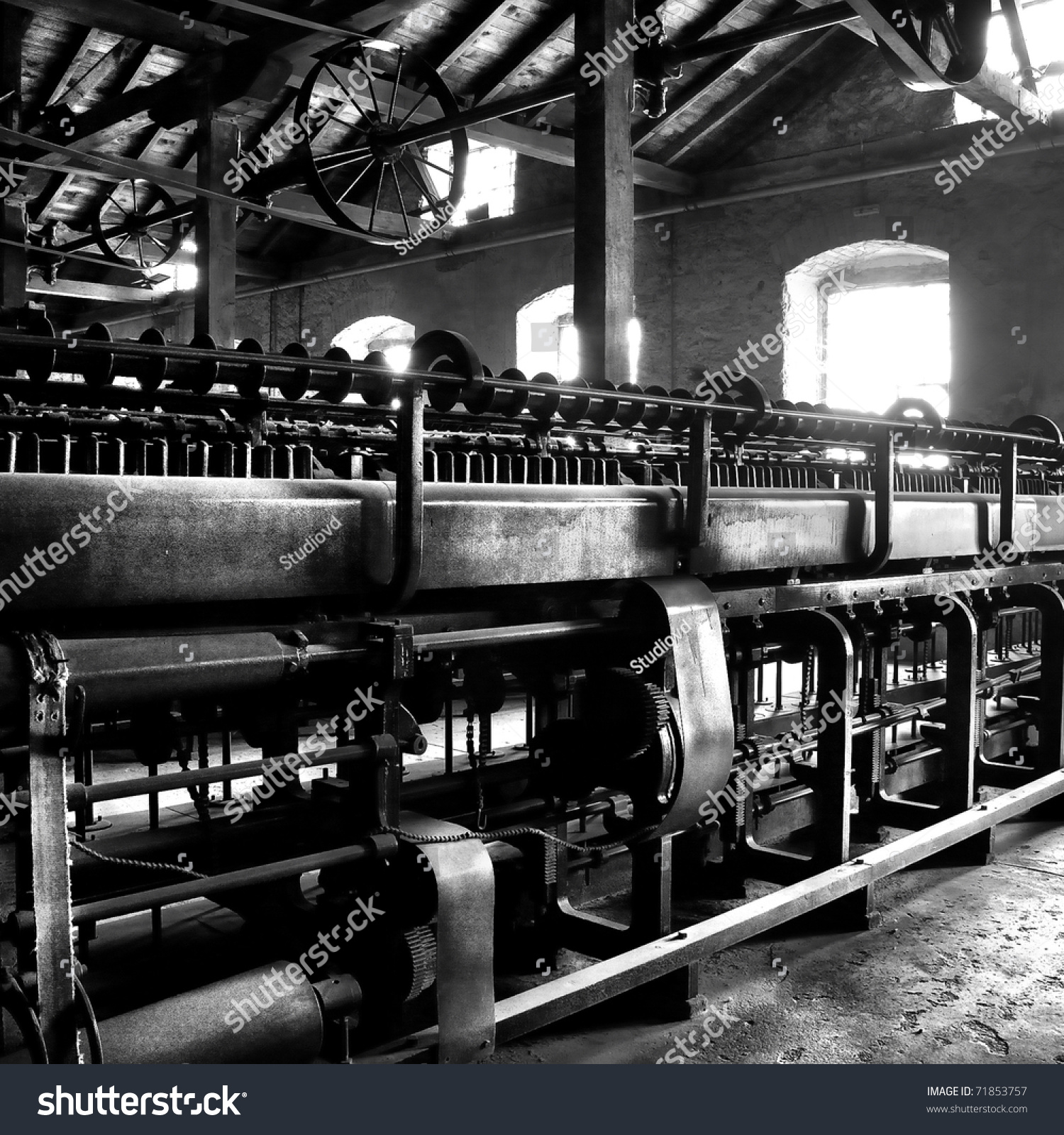 Old Factory Interior Stock Photo 71853757 Shutterstock