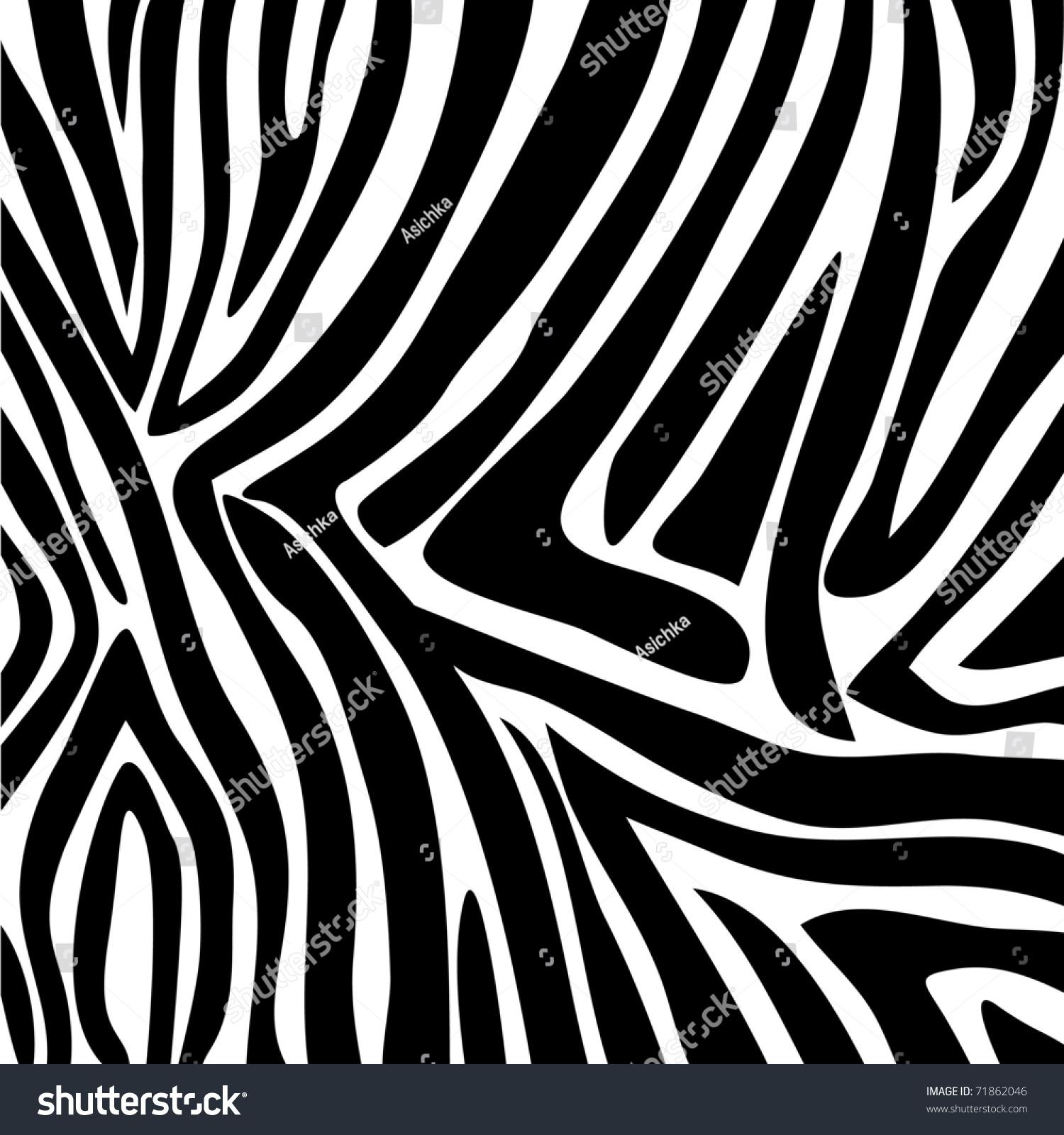 Zebra pattern vector - photo#12