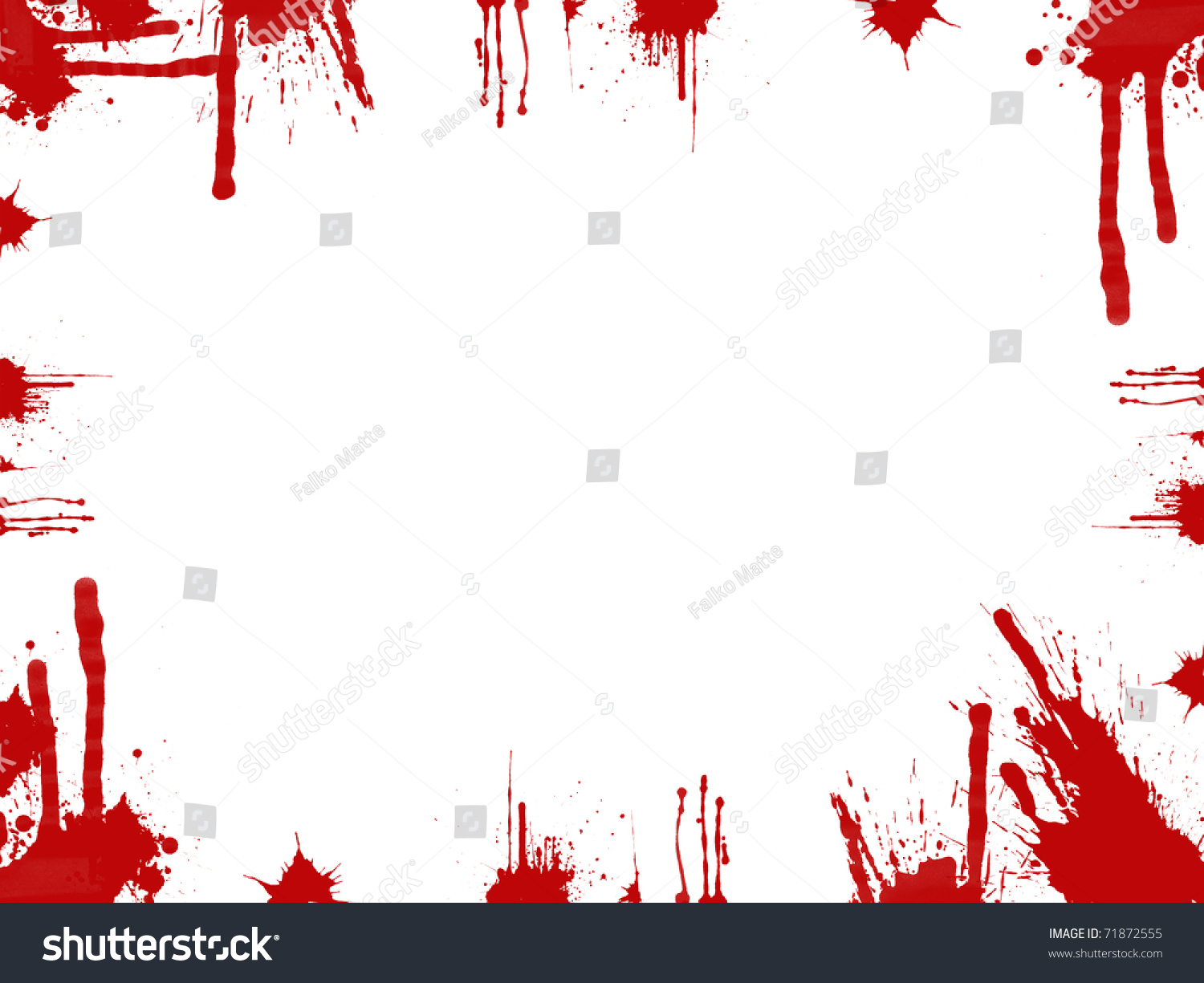 bloody frame stock photo 71872555 shutterstock