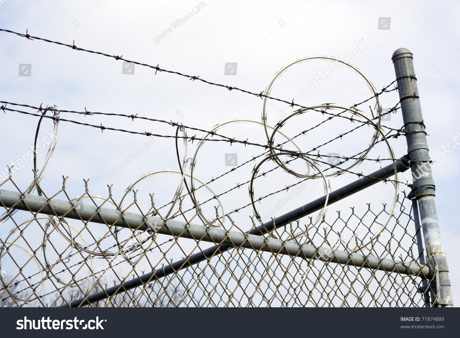 Attractive How To Install Razor Wire On Wall Ideas - Wiring ...