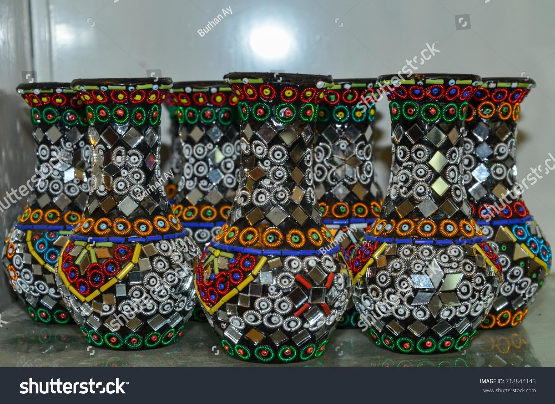 Traditional Pakistani Handicrafts Which Represents Pakistan Stock