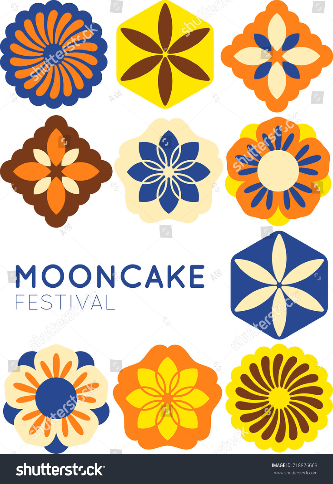 Mooncake drawings 297 best mooncakes images on pinterest mooncake mooncake drawings mid autumn festival moon cake design stock vector 718876663 kristyandbryce Choice Image