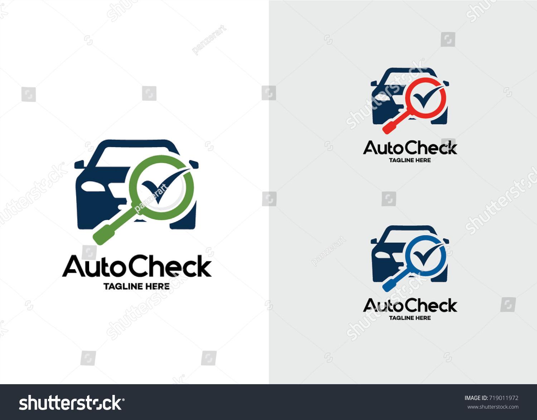 Auto check logo template design vector stock vector 719011972 auto check logo template design vector emblem design concept creative symbol icon biocorpaavc