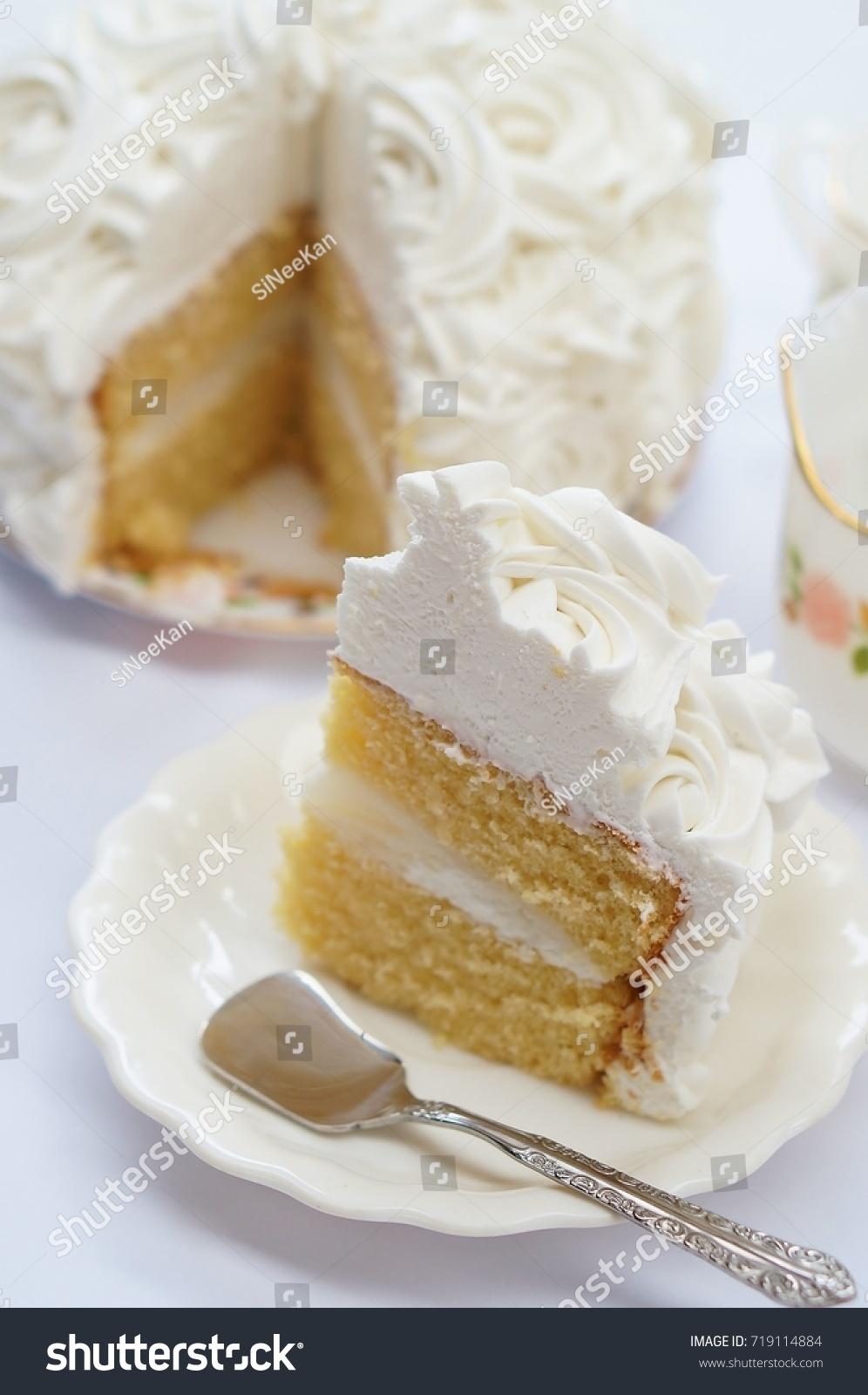 Coconut Birthday Cake Tea Pot On Stock Photo Edit Now Shutterstock