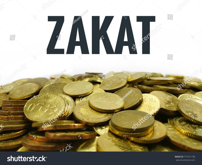 word zakat isolated white background gold stock photo edit now 719151196 https www shutterstock com image photo word zakat isolated white background gold 719151196