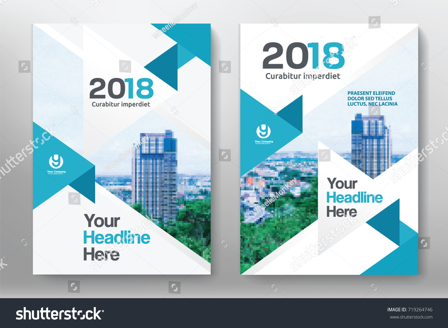 Book Cover Design Sites : City background business book cover design stock vector