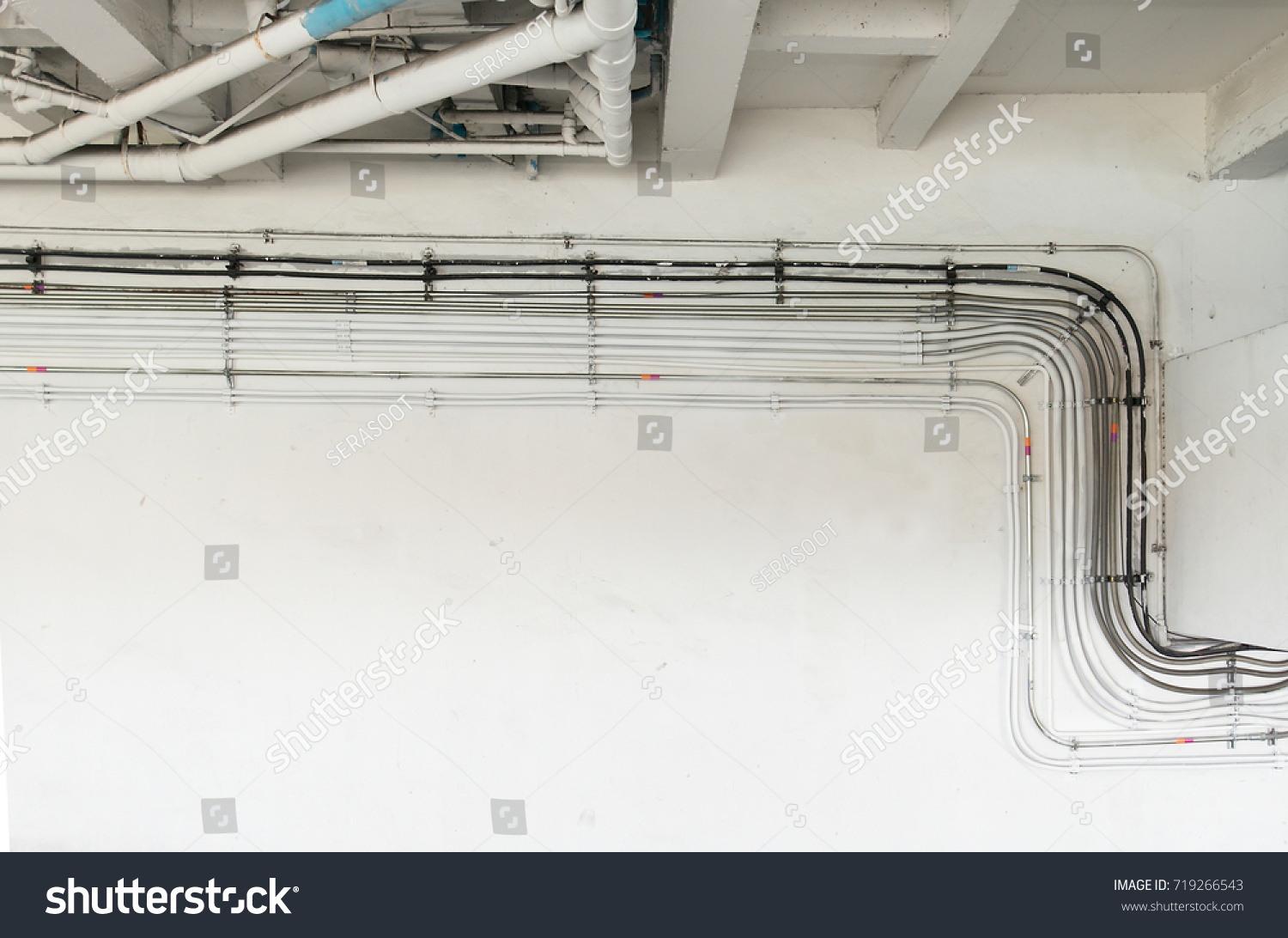 Installation Location Electrical System Sanitary System Stock ...
