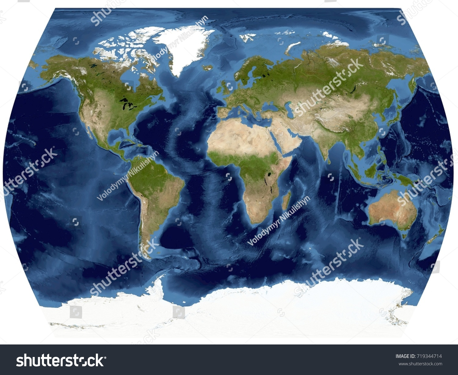 Complete earth view space high resolution stock illustration complete earth view from space high resolution world map illustration in world times projection gumiabroncs Images