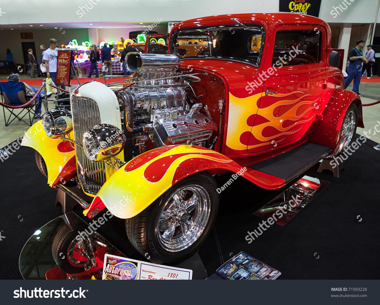 DETROIT FEB 25 Classic Hot Rod Stock Photo (Royalty Free) 71959228 ...
