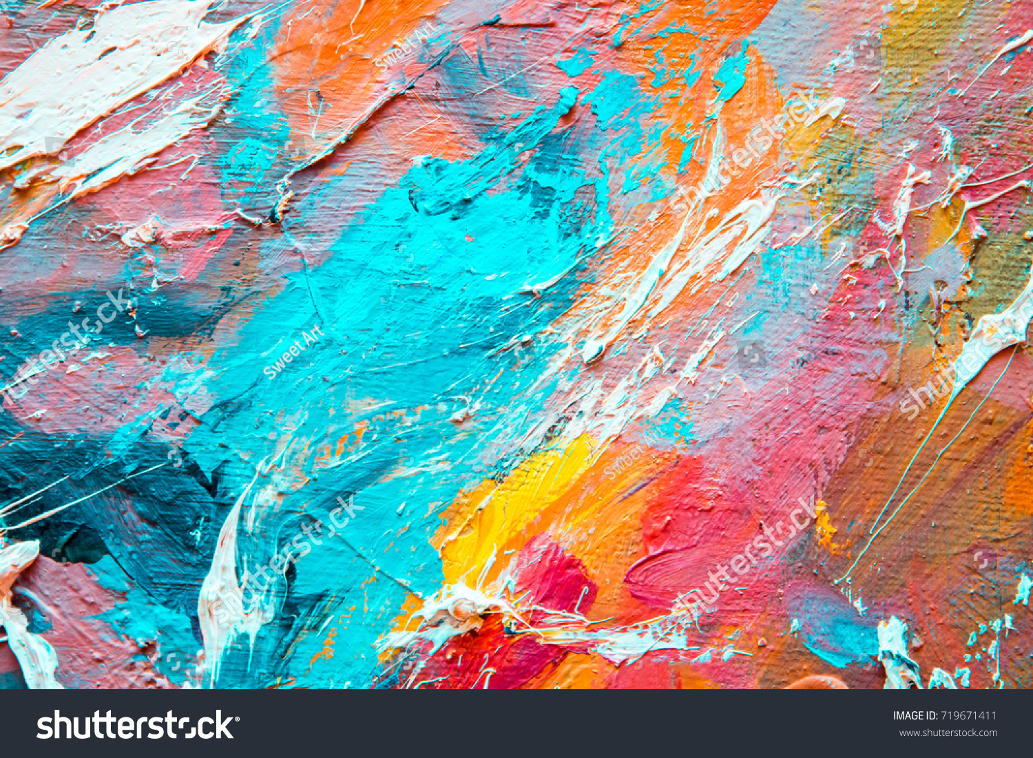 colorful background bright texture hand drawnのイラスト素材