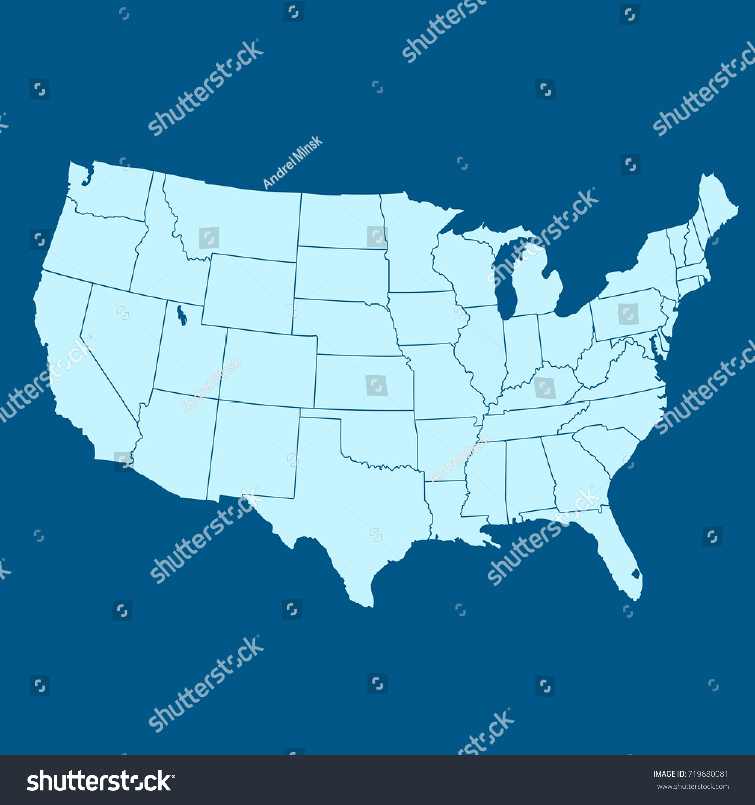 Map Of The United States Of America Minecraft Star Wars Map - The united states of america map