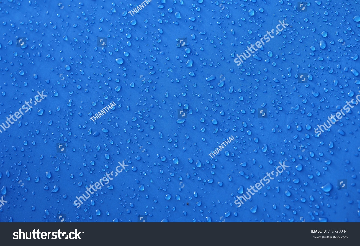 Dew drop on blue tent background.  sc 1 st  Shutterstock & Dew Drop On Blue Tent Background Stock Photo 719723044 - Shutterstock