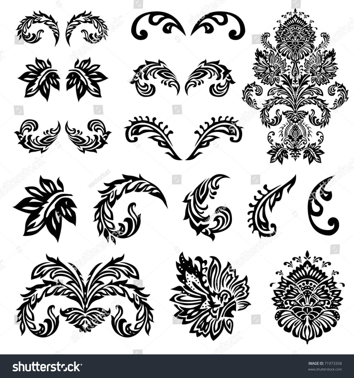 simple decorative patterns