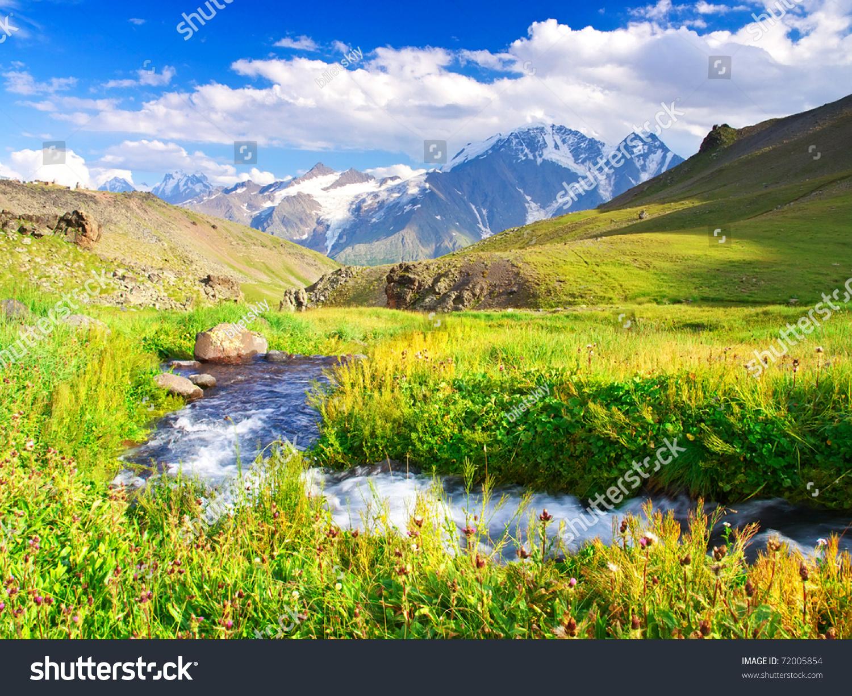 description mountain river natural - photo #17