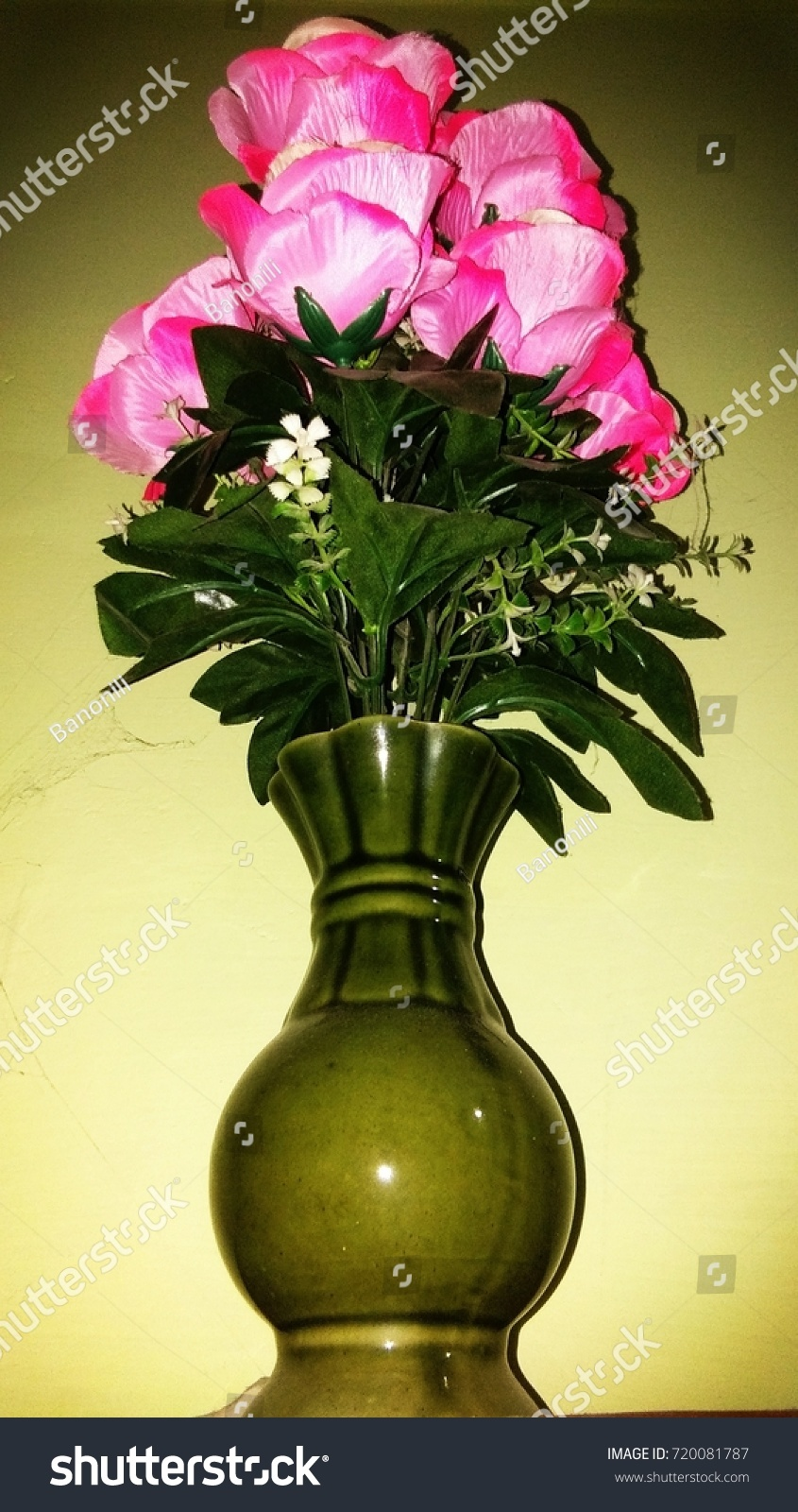 Flower pot flower vase artificial flowers stock photo 720081787 flower pot flower vase artificial flowers reviewsmspy