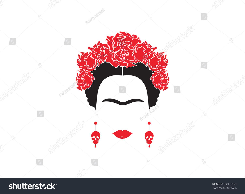 Dibujos Para Colorear De Frida Kahlo