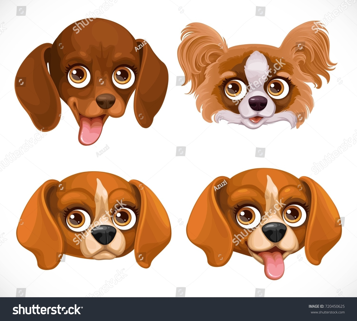Simple Papillon Canine Adorable Dog - stock-vector-cute-dog-muzzle-beagle-breed-dachshund-butterfly-papillon-isolated-on-white-background-720450625  Photograph_358568  .jpg