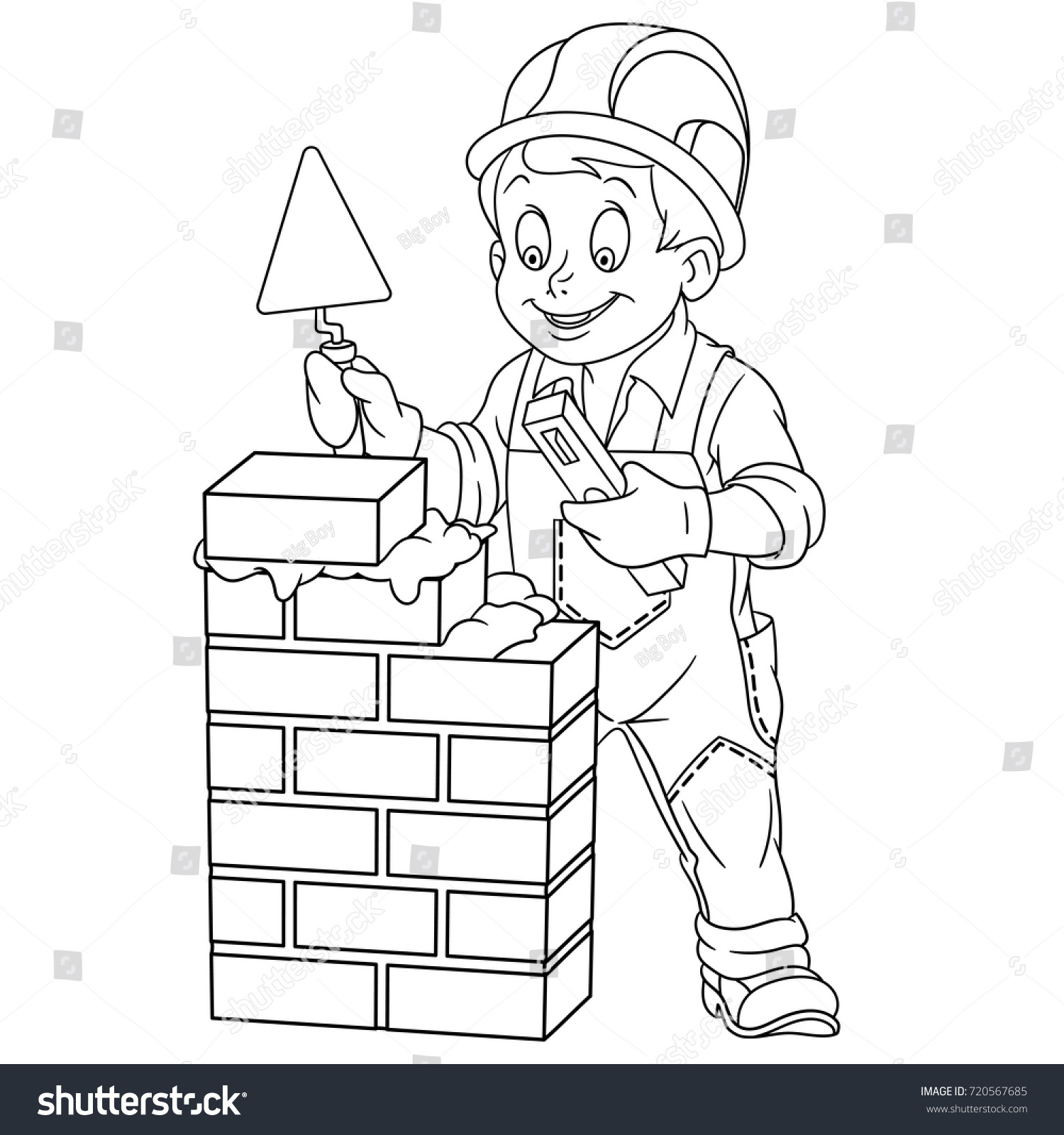printable brick wall coloring pages - photo#21