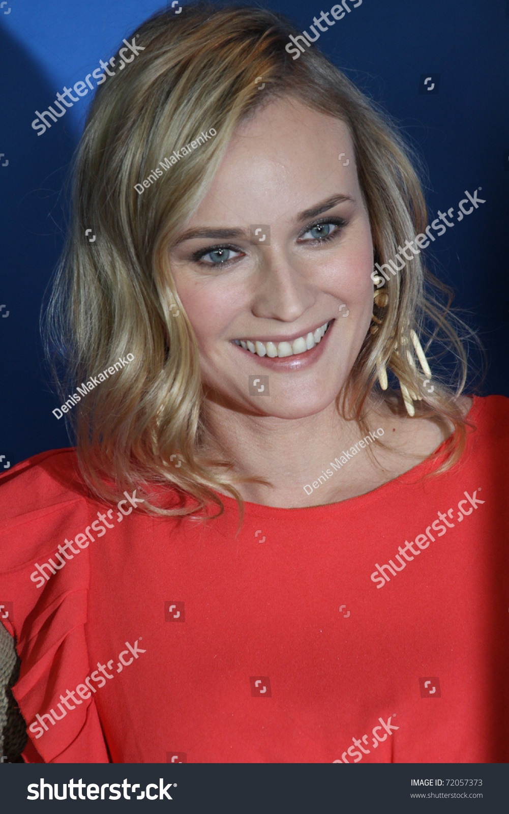 Berlin Germany February 18 Actress Diane Stock Photo ...