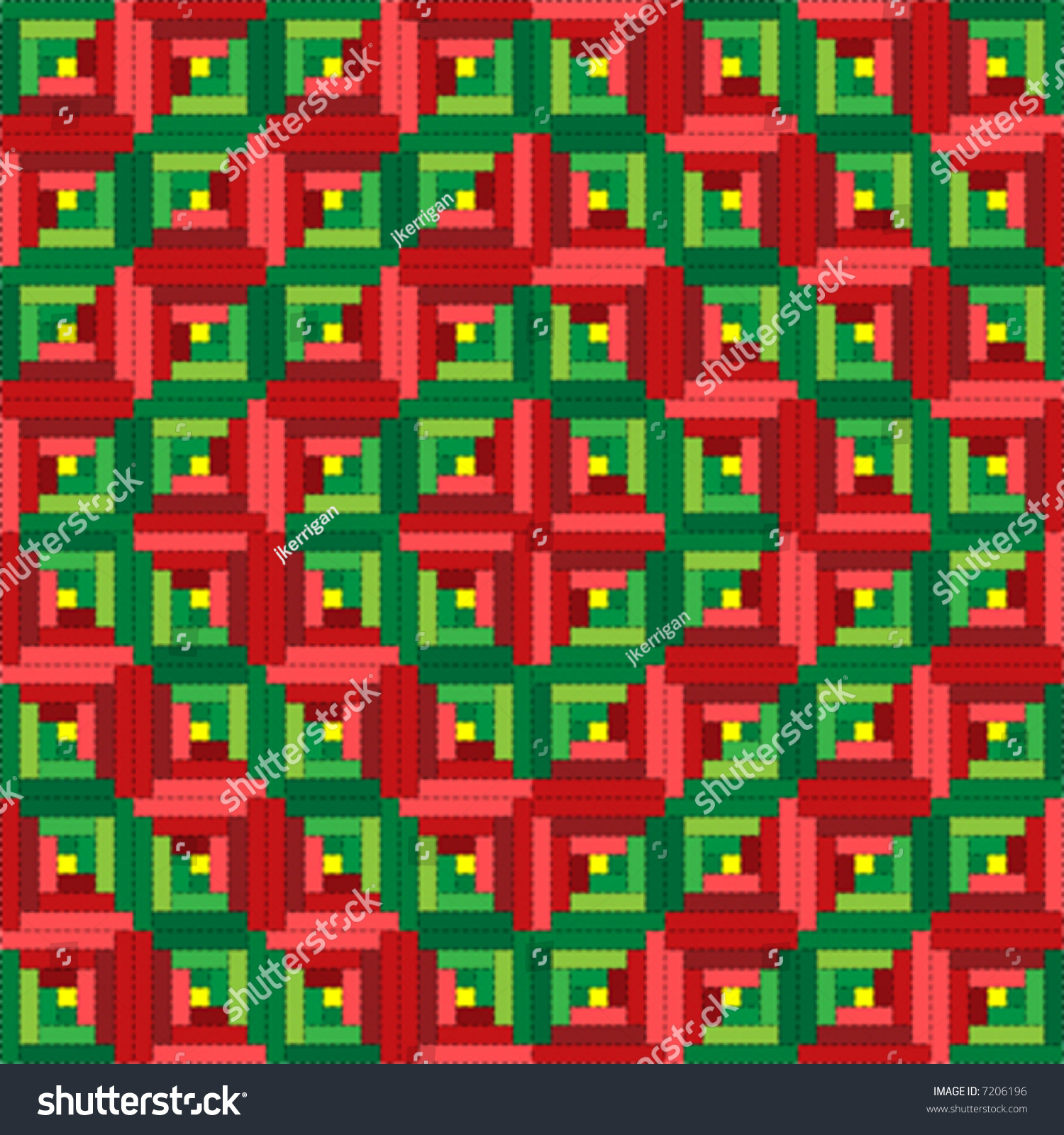 Barn Raising Quilt Pattern Free Knitting : Log Cabin Quilt Clipart Cliparts