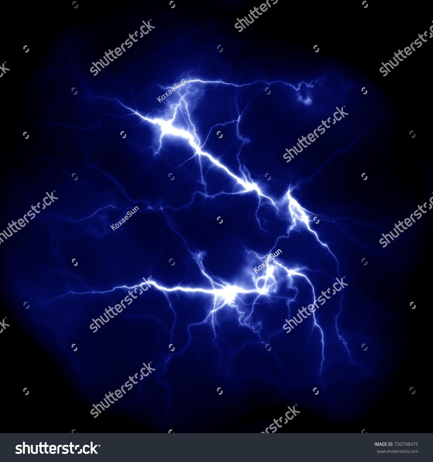 lightning template design electric discharge sky stock illustration