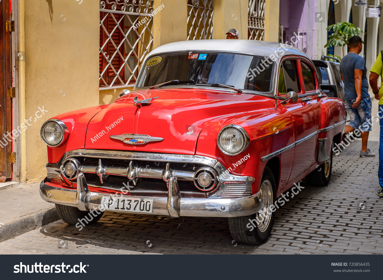 Havana Cuba Sep 5 2017 Classic Stock Photo 720856435 - Shutterstock