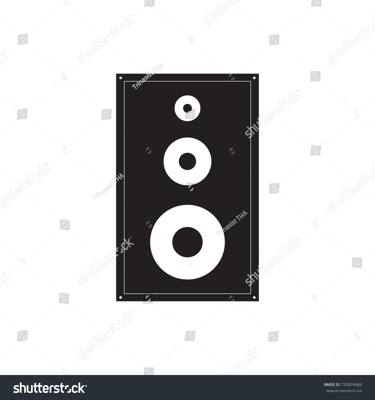 Symbol Speaker Stock Illustration 720874684 Shutterstock