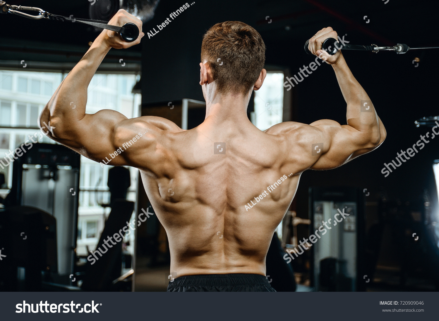 How to pump the broadest muscles 68